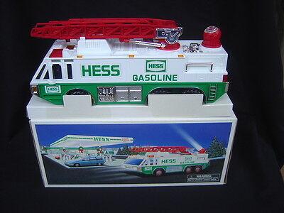 A USED 1996 Hess Gasoline Truck with Box