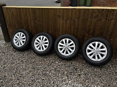 VW T6 T5.1 Transporter Genuine 16inch Alloy Wheels and Tyres Highline
