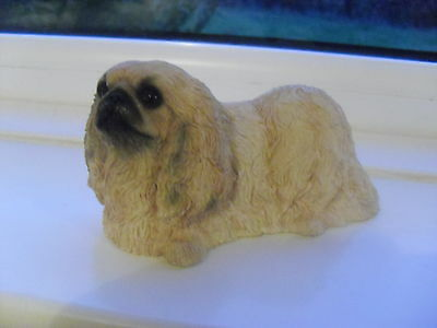 Leonardo Collection Pekingese Dog Made In Year 2000, Excellent Condition