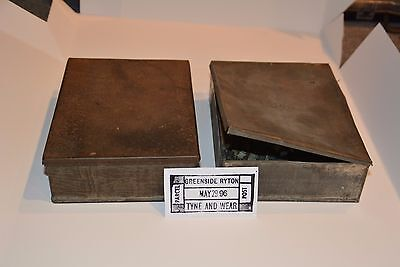 Old Parcel Date Stamp - Two Kits - One Hand Stamp - Royal Mail - Post Office
