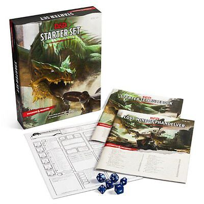 D&D Dungeons & Dragons 5 edizione Starter Set gioco di ruolo Inglese