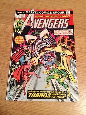 Marvel Avengers #125   THANOS Cover + Brief Appearance