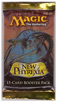 *** 1x Booster Pack ~~~ New Phyrexia ~~~ MtG ***