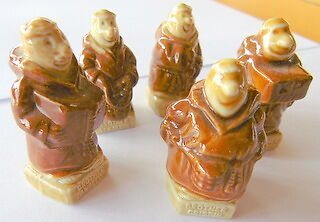 Wade Whimsie KP Friars figures 5 only Original