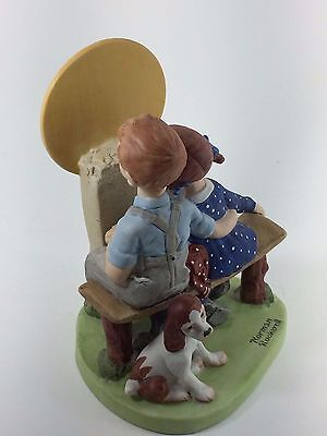 """Norman Rockwell Figurine """" Young Love"""""""