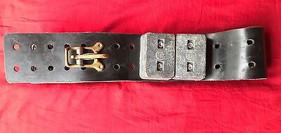 COMMERCIAL SCUBA DIVING WEIGHT BELT  (4) 8lbs LEAD WEIGHTS - USA