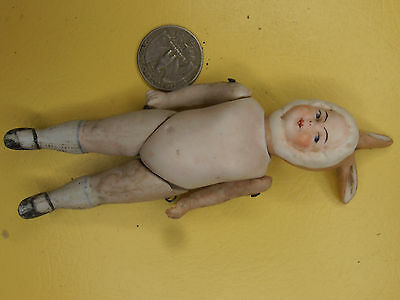 sweet Antique Dolls Germany Easter Bunny child dollhouse doll Limbach 1900-
