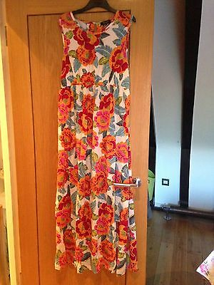 New Look Maternity Floral Maxi Dress Size 14