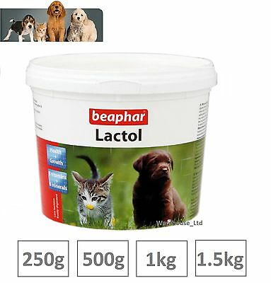 Beaphar Lactol Puppy Milk Vitamin Fortified Milk Powder 250g, 500g 1kg & 1.5kg