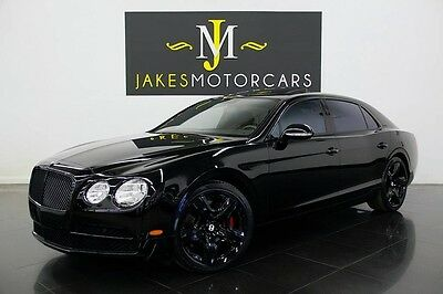 2014 Bentley Flying Spur W12 MULLINER 2014 BENTLEY FLYING SPUR W12, MULLINER PKG, BLACK PIANO WOOD, 17K MILES