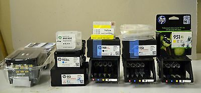 HP Officejet pro 8615 Genuine printhead with Set up Cartridges