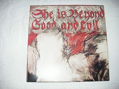 """Vinyl Record - The Pop Group - 12"""" Single - SHE IS BEYOND GOOD AND EVIL"""