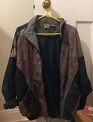 90s Vintage Shell Jacket Retro Indie Size M