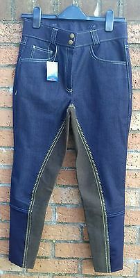 Crane sport ladies size 28 Riding denim breeches new with tags