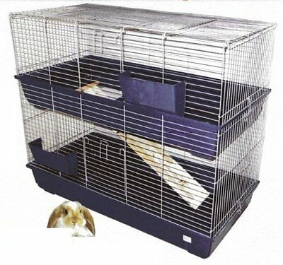 HUGE Double Tier Rabbit / Guinea Pig Cage, 120 cm with stand