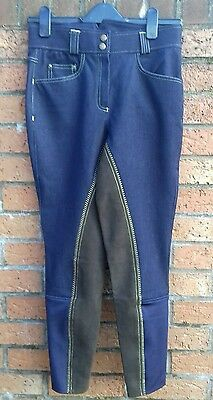 Crane sport ladies size 26 Riding denim breeches brand new without tags