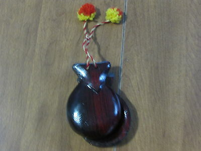 Beautiful Wooden Castanets