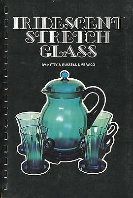 Iridescent Stretch Art Glass - Imperial Northwood Fenton..../ Scarce Book