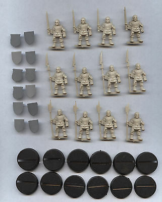 Games Workshop Advanced HeroQuest Full Set 12 Henchmen With Bases and Shields