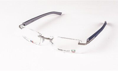 Tag Heuer Trends TH 8108 004   Rimless Designer Glasses  New 54-17