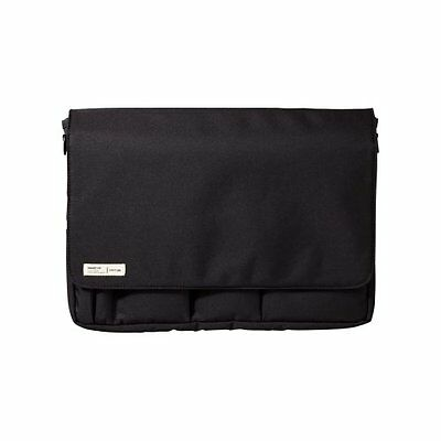 LIHITLAB LIHIT LAB Carrying Pouch (Laptop Sleeve), Black, 9.4 x 13.4 Inches