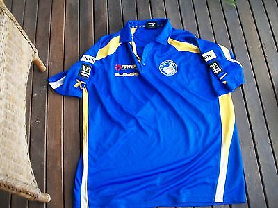 nrl footy jersey polo shirt rugby league parramatta eels size 4xl