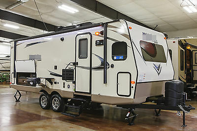 New 2017 25FKS Micro Lite Front Kitchen Slide Out Travel Trailer Camper For Sale