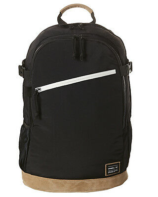 New O'neill Men's Easy Rider Backpack Nylon Leather Black N/A