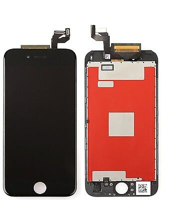 """iPhone 6S - 4.7"""" Replacement Full Front Screen LCD and Digitizer Assembly BLACK"""