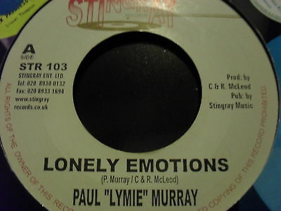 PAUL MURRAY - lonely emotions    *STINGRAY 7""