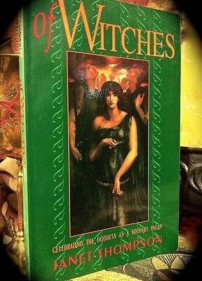Of Witches: Celebrating The Goddess As Solitary Pagan ~ 1993 Sc ~ Magick Wiccan
