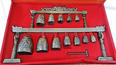 Chinese Traditional Chime Bell Instrument Bianzhong