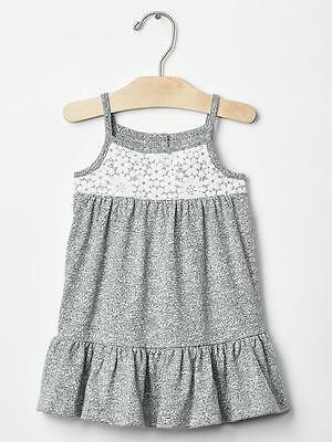 New With Tags Baby Gap Crochet Cami Dress Size 12-18M