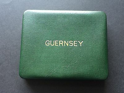 Guernsey 4 coin proof set 1966