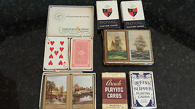 Playing cards. Not sure how old. Vintage