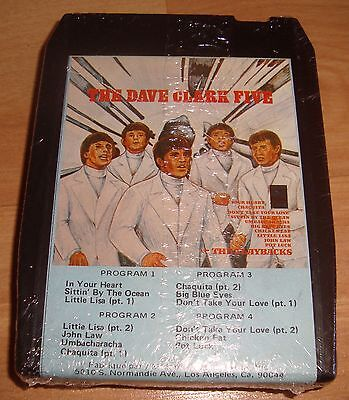 THE DAVE CLARK FIVE 8 Track Tape Cartridge Stereo Sealed