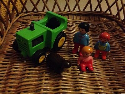 Playmobil 123 Tractor And People