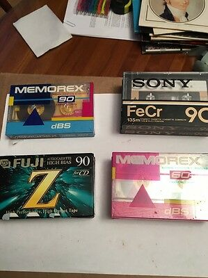 Lot Of 7 Cassette Tapes