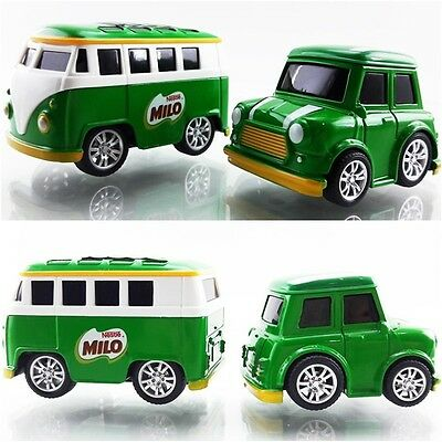Milo Car Model & Van Pullback Diecast Simple Kids Toy Gift Nestle Thailand 2016