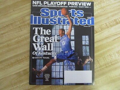 John Wall Signed Sports Illustrated Mag .  !Wizard Great ! Happy Holidays  !