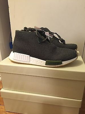 huge selection of c0a4a d9e41 Adidas Consortium x END Clothing NMD C1 Chukka Olive Green BB5993 SIZE 8