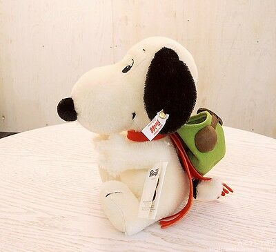 Steiff x SNOOPY Flying Ace Japan 1500 Limited 2017 Peanuts Plush Japan  New F/S