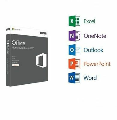 Office Home and Business 2016 for Mac - ESD - multi language - 1 PC