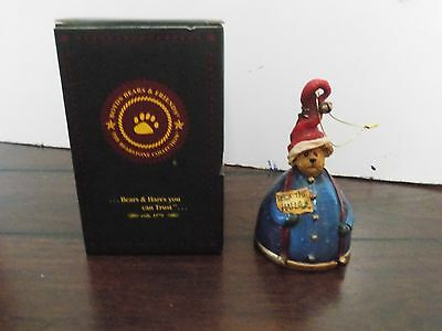Boyd Bear's & Friend's Ornament Elvin Kringlebell 2003 Collection # 99987V-2