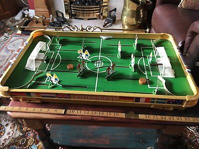 Vintage Boxed 1960'S Munro Table Top Football Game