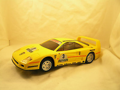 Scalextric Ferrari F40 #3 (C450) Used 1/32-Scale Slot Car Fully Lighted Version
