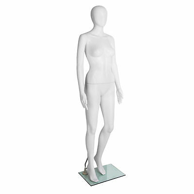 Full Body Female Mannequin Clothes Display White 175cm