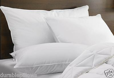 Queen Size Pillow, Made In USA Highest Quality, 20 X 30, set of 2 Pillows
