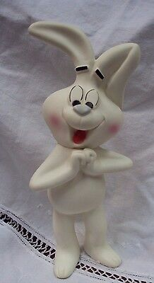 Vtg GENERAL MILLS Advertising Vinyl Cereal Toy SILLY RABBIT, TRIX ARE FOR KIDS !