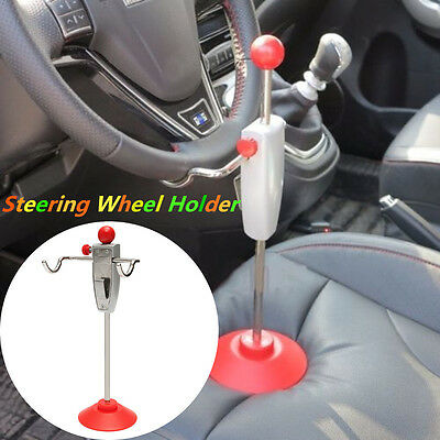 14.5''/368cm Steering Wheel Holder Stand Tool Wheel Alignment Essential For Car